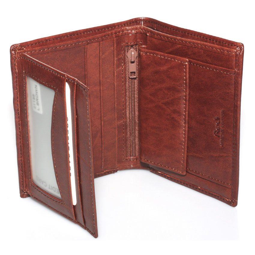 0Rudi ארנק לגבר מעור ברידג (בארנק זה לא ניתן לבצע הטבעה) דגם 211951
