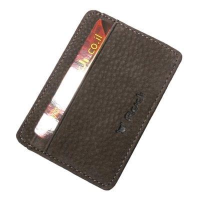 ארנק דק לכרטיסי אשראי מעור Full Grain | דגם 1482 מתנה קטנה