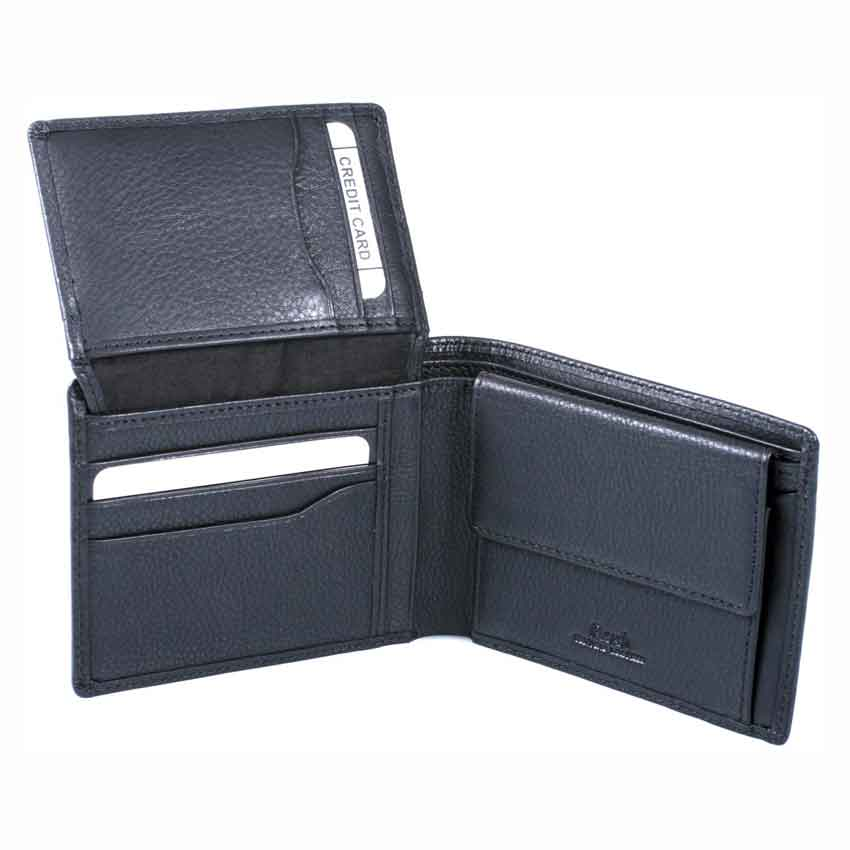 Men's leather wallet 100% high quality Italian Napa leather item no' 1529