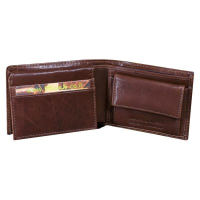 Italian genuine leather, men's leather wallet, highest quality item no' 9046