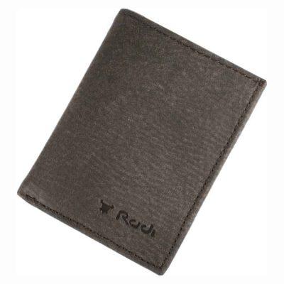מתנה לחיילים – ארנק גבר קטן לכרטיסי אשראי שטרות ומטבעות מעור אפריקה אמיתי איטלקי ואיכותי – 90523 רודי – Rudi  – ניתן להטביע עד 4 מילים בלבד ושורה אחת