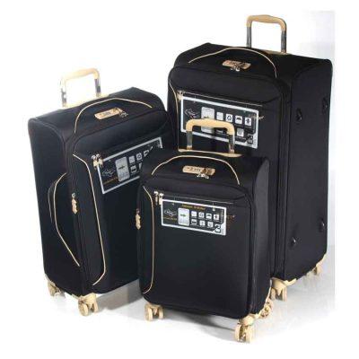 """סט 3 מזוודות 19"""" + 24"""" + 28""""  דגם 13005 Aurora Verage – המזוודות הטובות בעולם – אחריות 36 חודשים"""