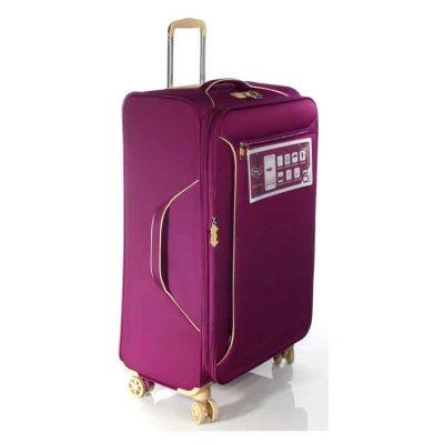 """מזוודה 28 אינץ' גדולה הכי יפה שיש 28"""" 13005 Aurora טרולי Verage המזוודה הטובה בעולם – 3 שנות אחריות"""