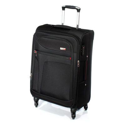 """מזוודה חזקה בגודל בינוני 24"""" טרולי Verage – 14086 ROCK – אחריות 36 חודשים"""