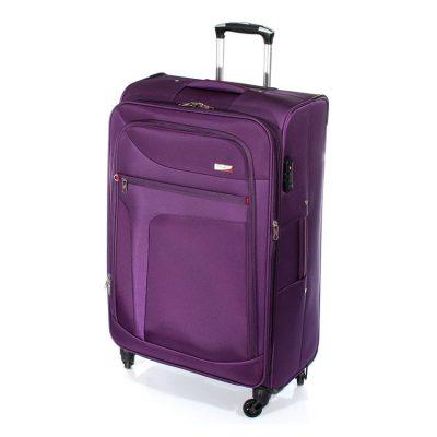 """מזוודה עמידה לאורך שנים – מזוודה גדולה 28"""" טרולי Verage – 14086 ROCK אחריות: 3 שנים"""