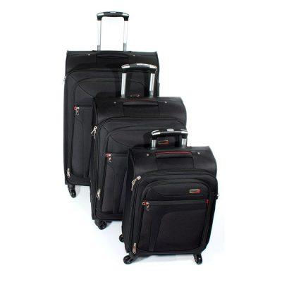 סט מזוודות הכי יפות שיש – 3 יחידות Verage – 14086 ROCK – אחריות: 3 שנים