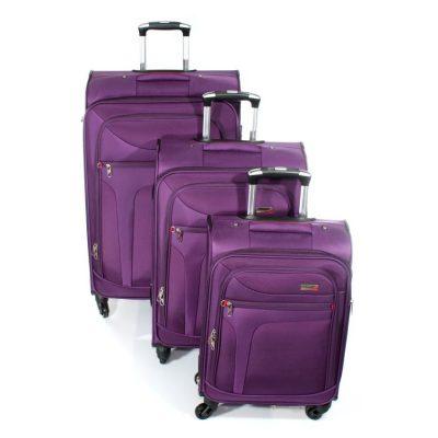 סט מזוודות קלות משקל הטובות בעולם – 3 יחידות Verage – 14086 ROCK אחריות: 36 חודשים