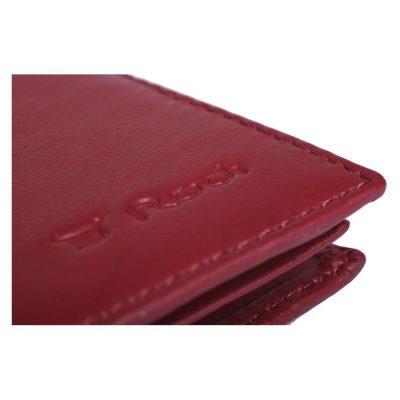 ארנק אדום מעור נאפה אמיתי רודי – Rudi 8585