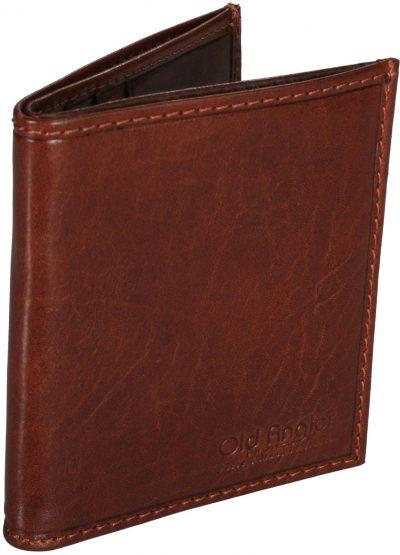 ארנק גבר הכי דק וקטן מעור הטוב בעולם תוצרת איטליה Full Grain Leather דגם 8037