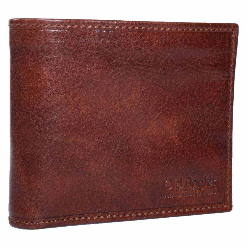 Men 's Special Gift – Men' s Leather Wallet in Medium size  Made in Italy 8004