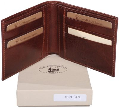 Cowhide leather Bifold Wallet item 8009