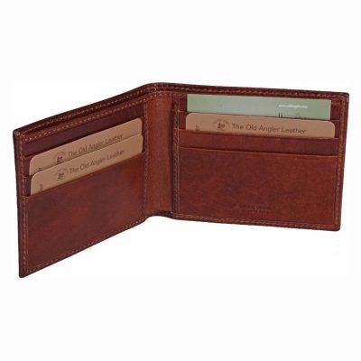 הארנק הכי דק שיש תוצרת איטליה Full Grain Leather דגם 8026