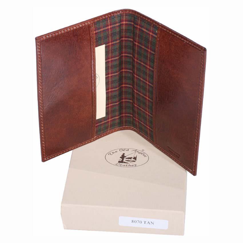 Leather Passport Holder item 8070