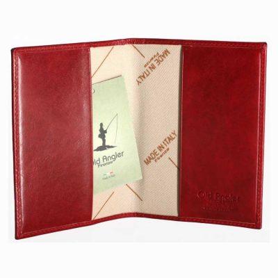 ארנק לפספורט מעור, דרכון תוצרת איטליה מעור אמיתי משובח דגם 8070