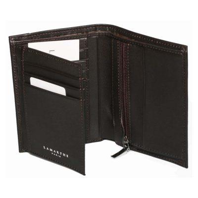 מתנות לימי הולדת – ארנק עור לגברים ממותג תוצרת – Lamarthe Paris  – דגם IT253