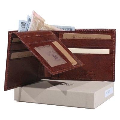 מתנה לרופא – ארנק גדול לגברים מהעור הטוב בעולם,הכי איכותי, תוצרת איטליה דגם 8028