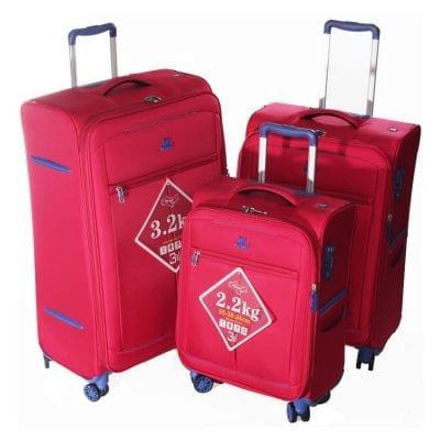 המזוודות הטובות בעולם Verage – דגם 12113 Mercury טרולים 3 שנות אחריות הסט כולל 3 מזוודות