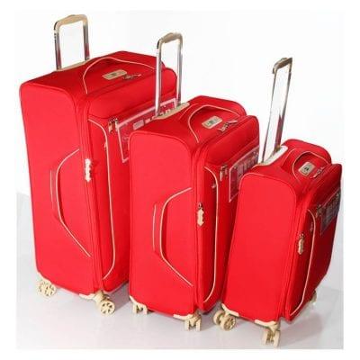 """מזוודות איכותיות סט 3 מזוודות 19"""" + 24"""" + 28""""  דגם 13005 Aurora Verage – המזוודות הטובות בעולם – אחריות 36 חודשים"""