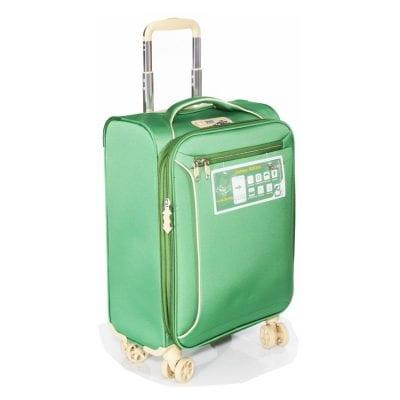 """מזוודה 19 אינץ' קטנה 19"""" 13005 Aurora טרולי Verage המזוודה הטובה בעולם – 3 שנות אחריות"""