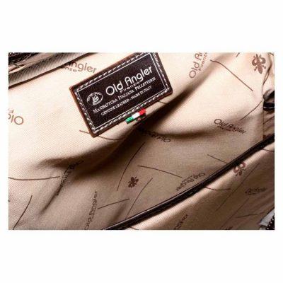 תיק קל לגב מעור בופאלו תוצרת איטליה מהמם כולל תא ללפטופ, קל משקל במיוחד -דגם 4053