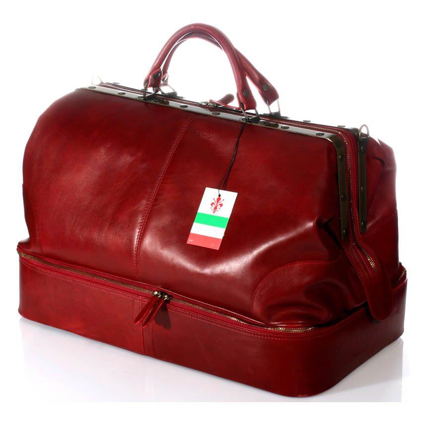 תיק נסיעות מעור משובח תוצרת איטלקי תיק דוקטור מיוצר באיטליה – דגם 4085