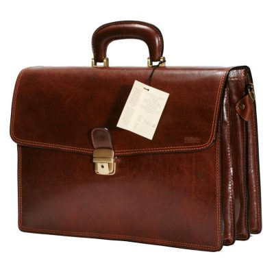 תיק מעור אמיתי לגבר לעסקים גדול במיוחד, למנהלים תוצרת איטליה – דגם 795