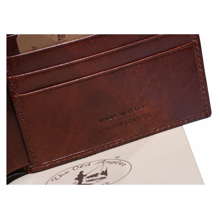Men geniune leather wallet, Made in Italy item 8024