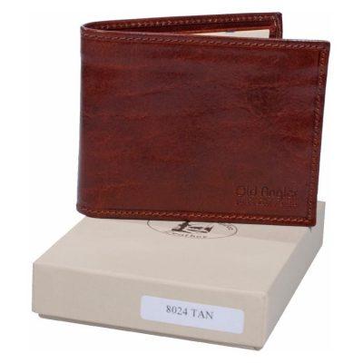 מתנות לגברים – ארנק דק לגבר מהעור הטוב בעולם,הכי איכותי, תוצרת איטליה Full Grain Leather דגם 8024