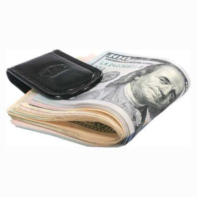 מגנט שטרות, מני קליפ איטלקי, המגנט החזק בעולם מעור ברידג' איטלקי יפהפה Money Clip דגם 8090