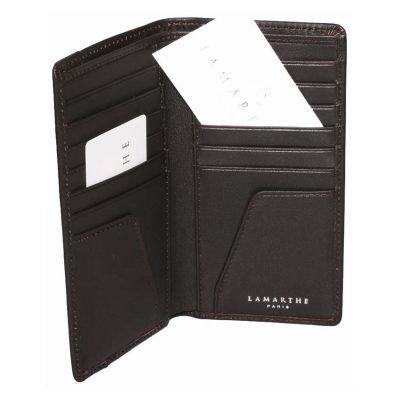 מתנה לאיש עסקים – ארנק עור למסמכים מבית המותג הצרפתי LAMARTHE PARIS – דגם IT256