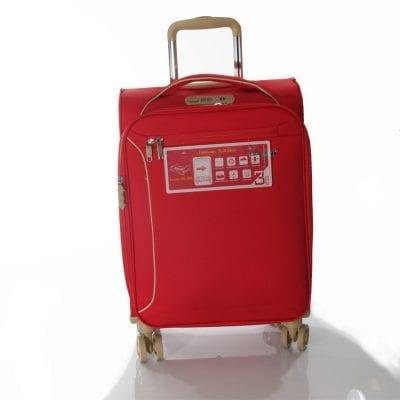 """מזוודה מומלצת קטנה 19"""" 13005 Aurora טרולי Verage המזוודה הטובה בעולם – 3 שנות אחריות"""