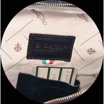 תיק גב איטלקי למחשב מעור נאפה אמיתי תוצרת איטליה – דגם 314