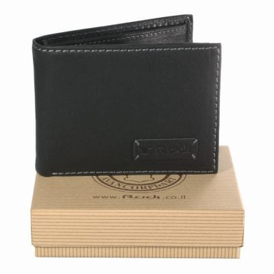 Men genuine african leather wallet, item no' 50411