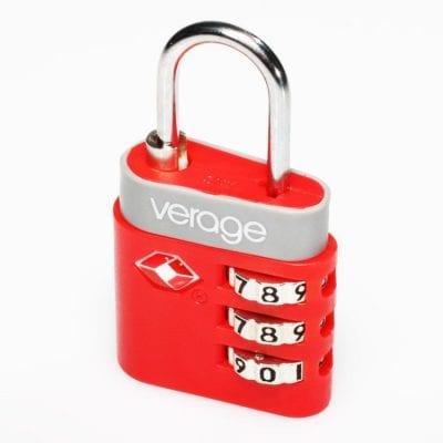 מנעול למזוודה TSA למזוודות VERAGE דגם 5111 | מנעול מספרים למזוודות | מנעול קומבינציה למזוודות+תקן TSA