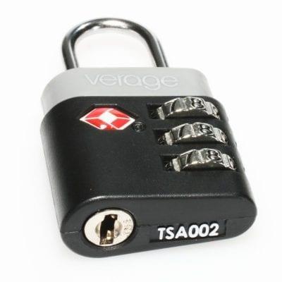 מנעול TSA למזוודות VERAGE דגם 5111 | מנעול מספרים למזוודות | מנעול קומבינציה למזוודות+תקן TSA