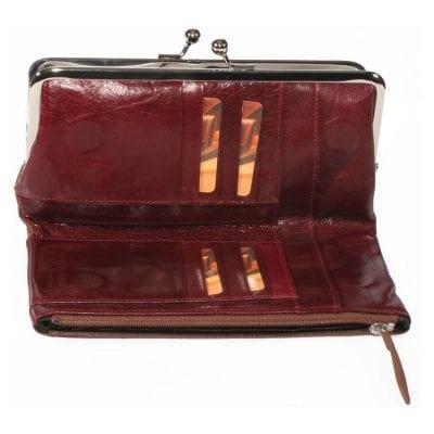 רעיון למתנה לאישה ארנק עור לנשים 90353 רודי – Rudi קלאץ' עור איטלקי יפהפה