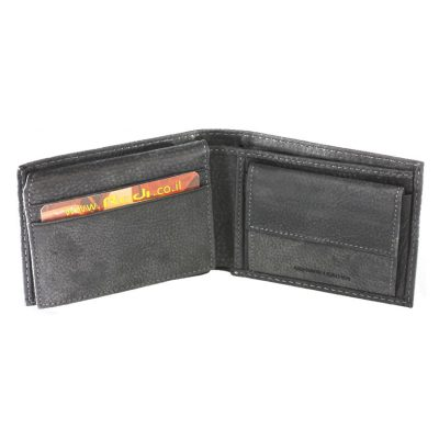 Men's Leather Wallet, Italian Leather, Item no' 70412