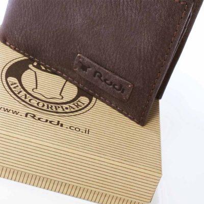 מתנה מגניבה – ארנק לגבר בגודל בינוני מעור אפריקה | דגם 70414 מתנה אישית לגבר