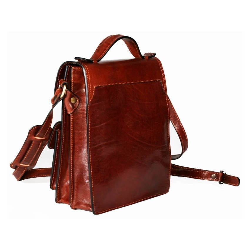 Made in Italy Genuine Leather bag Model 910
