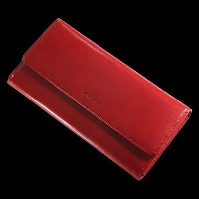 ארנק גדול לנשים מעור אמתי ברמה הכי גבוהה,עור ברידג' איטלקי כולל 22 תאים לכרטיסי אשראי – דגם 9990
