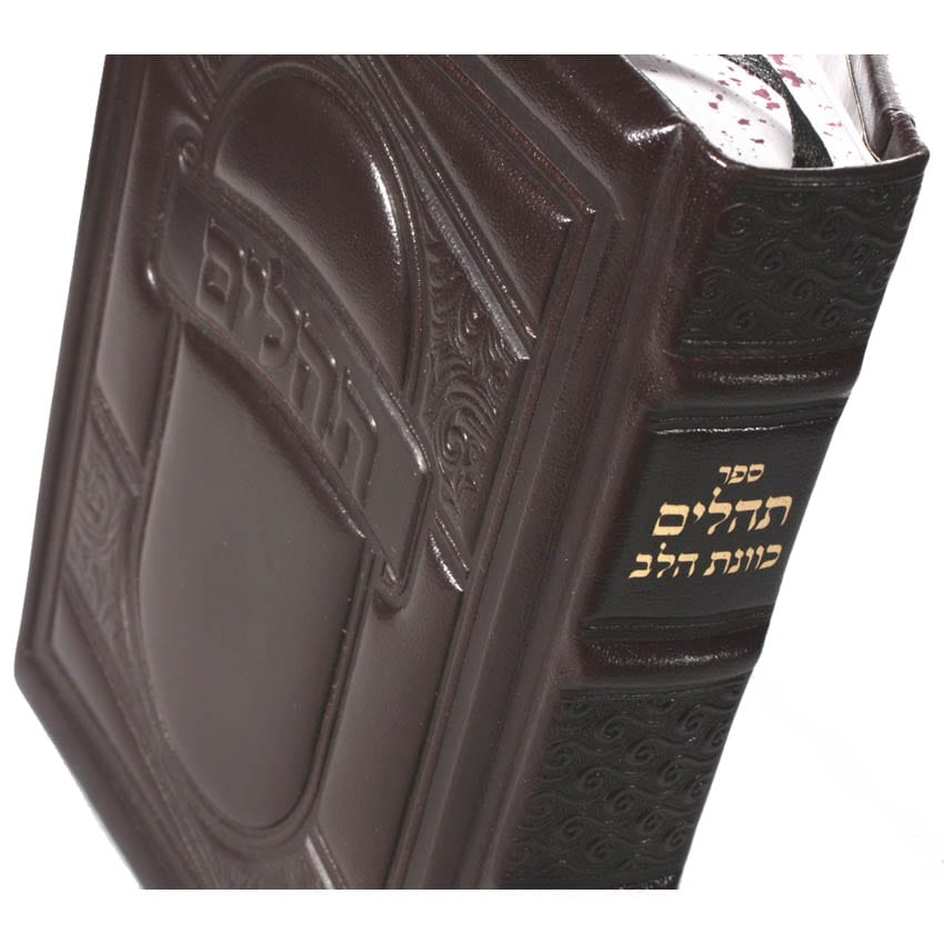 Book of Psalms Leather Jewish prayer book item no' 1013 – (we can emboss max 3 words)