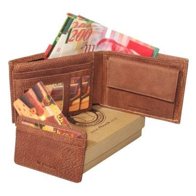 Italian genuine leather, men's leather wallet, highest quality item no' 90462