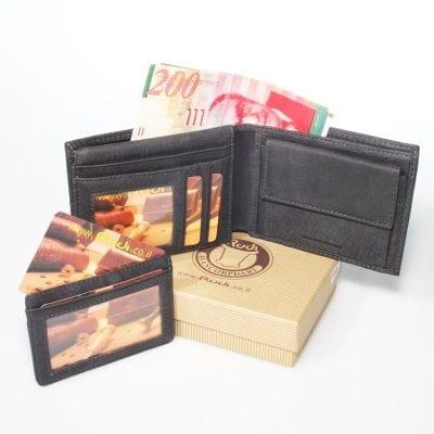 יום נישואין רעיונות – Rudi סט ארנק לגבר עם נרתיק לכרטיסי אשראי נשלף יפהפה מעור איטלקי | דגם N90463