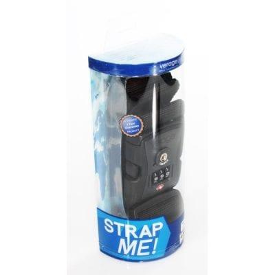 מנעול עם רצועה למזוודה קומבינציה TSA לבטיחות גבוהה, צבעי פסטל לרצועה לזיהוי קל של המזוודה VERAGE 5120