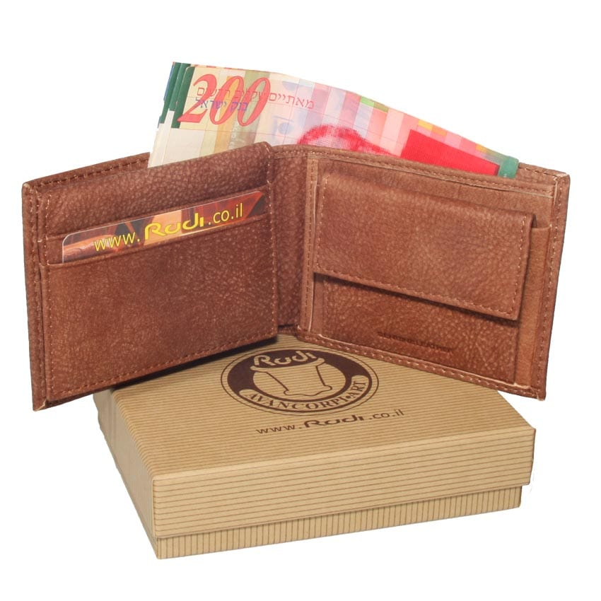 90412 men small leather wallet
