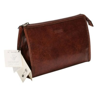 Leather Travel Case (Large) – Brown no' 2075