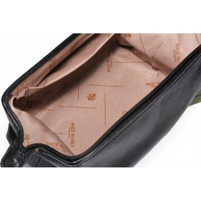 תיק רחצה מעור תוצרת איטליה דגם 4012