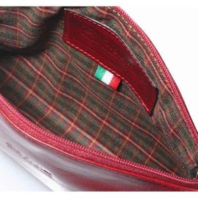 תיק עור לאיפור תוצרת איטליה דגם 4077