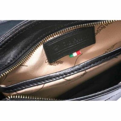 תיק צד כתף מעור נאפה אמיתי תוצרת אולד אנגלר איטליה דגם 4065