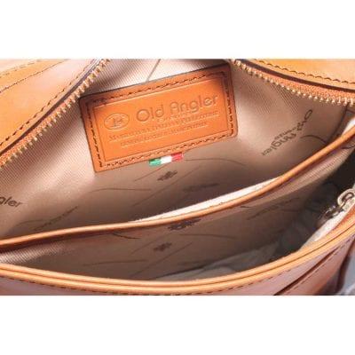 תיק מעור רך תוצרת אולד אנגלר איטליה דגם 4066
